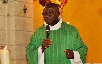 Notre nouveau prêtre est arrivé début octobre 2017