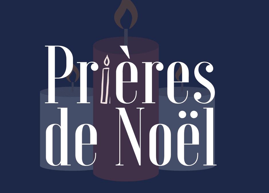Prières de Noël….
