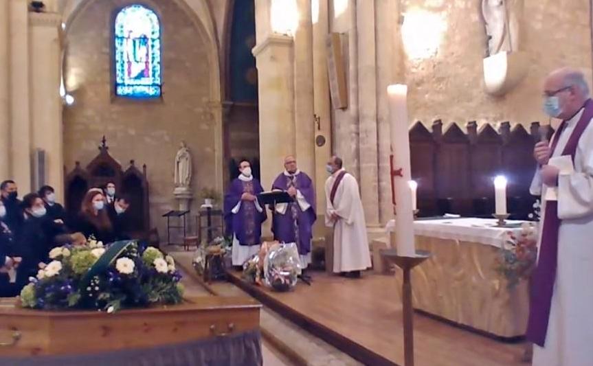 Célébration des obsèques de Pierre Marie Delpit